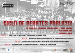 Ciclo de Debates Públicos do ERRO Grupo discute Poder da Mídia