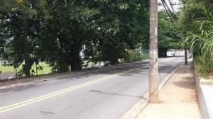 Alerta: Cabos caídos no bairro Trindade