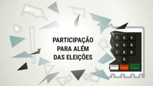 """Roda de conversa: """"Participação para além das eleições"""""""