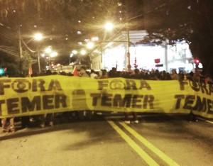 Protestos em Floripa ganham destaque nacional novamente