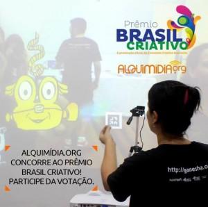 Alquimídia.org foi finalista do Prêmio Brasil Criativo com projeto de Realidade Aumentada