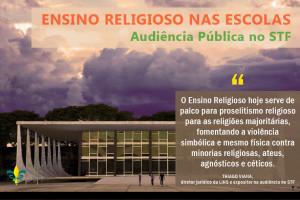 Ministro do STF convoca audiência pública sobre o ensino religioso nas escolas