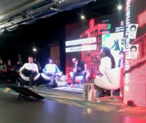 TC, da rede @mocambos e a tecnologia do tambor na #ArenaNETmundial